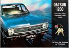 blau Datsun 1200 Limousine