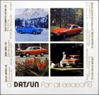 'a Datsun for all seasons' Canadian Brochure