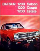 &quot;DATSUN 1200 Saloon, Coup