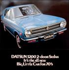"""Datsun 1200 2-door Sedan"" brochure"