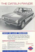 """The Datsun Range"" UK brochure"