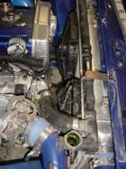 Very dirty engine bay